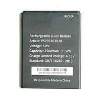 Аккумуляторная батарея (АКБ) для Prestigio PSP3530/PSP3531/PSP3532/PSP7530 Duo MultiPhone, 2500 mAh