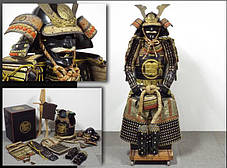 Доспехи самурая нач.19 века период Эдо, фото 2