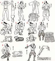 Доспехи самурая 19 век, оригинал, комплект 1, фото 2