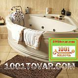 """Набор из 3-х ковриков из микрофибры """"Макароны или дреды"""" в ванную 80х50 см. и туалет 40х50 см., 40х35 см., фото 10"""