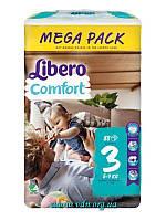 Подгузники Libero Comfort 3 (5-9 кг) 88шт
