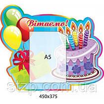 Стенд Поздравляем День рождения