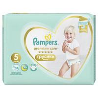Трусики Pampers Premium Care Pants 5 Junior (12-17 кг) 34 шт АКЦИЯ