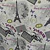 """Мебельная ткань гобелен-шенилл """"Париж"""" перетяжка мягкой мебели стульев ширина 150 см сублимация 2035"""