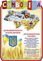 Стенд Государственная символика (цвет бежевый)