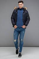 11 Kiro Tokao   Японская куртка весна-осень 9981 т-синий