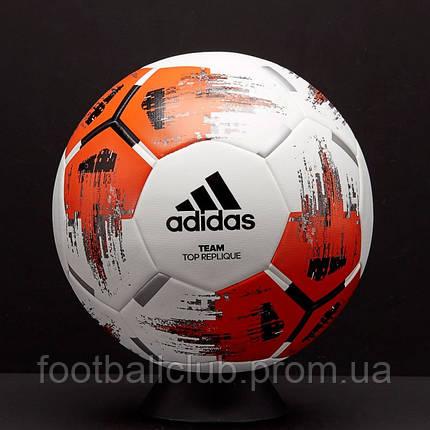 Мяч adidas Team Top Replique White/Orange CZ2234, фото 2