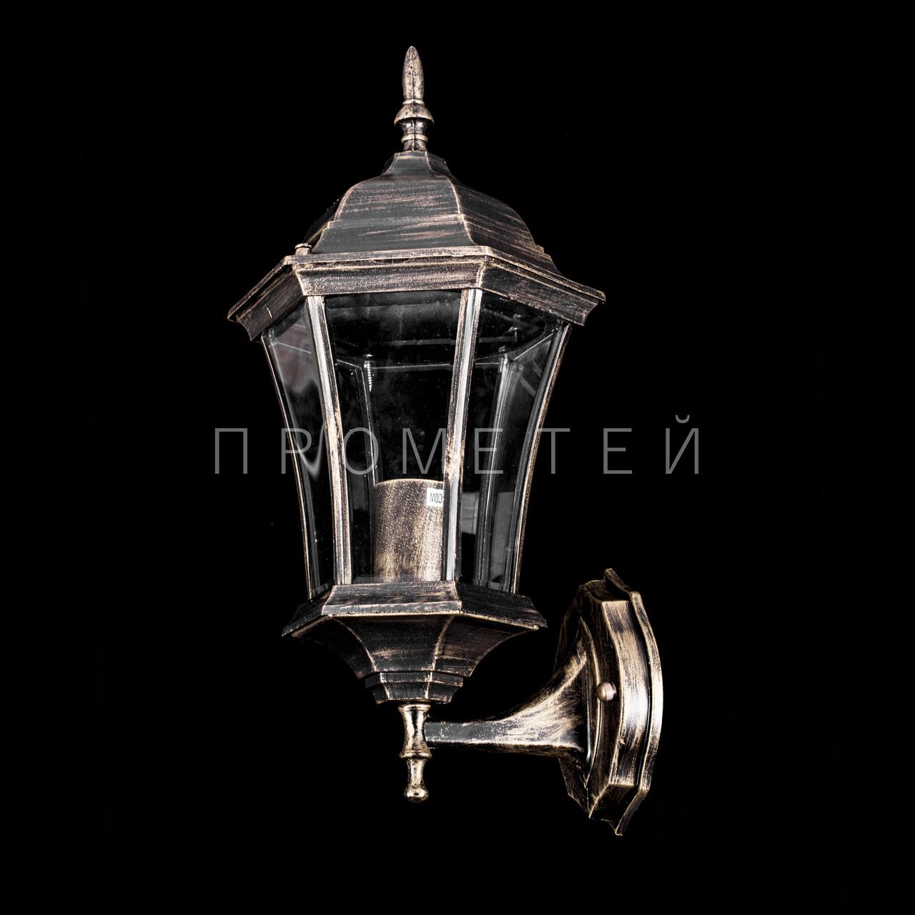 Вуличні світильник настінний на 1 лампочку P3-8708S/1W/BR