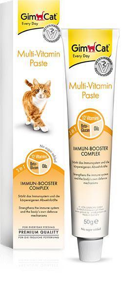 Паста Gimborn GimCat Мультивитамин для кошек 50 г