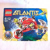 Конструктор LEGO Atlantis Поиски сокровищ 8057, 64 эл.