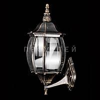 Уличные светильник настенный на 1 лампочку  P3-8711/1W/BR