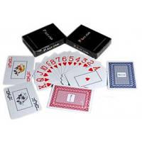 Карты игральные пластиковые «Poker Club» (Синяя Рубашка)