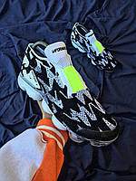 Мужские кроссовки Nike Air VaporMax Dark Team Red Black, Реплика, фото 1