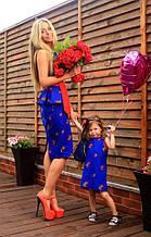 Миле плаття для дівчаток з тканини льон