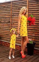 Літнє плаття з полуницею