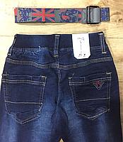 Джинсовые брюки для мальчиков оптом, F&D, 104-134 рр., арт. F242, фото 4