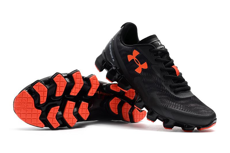 Кроссовки Under Armour Scorpio Black Orange Черные 1258007-008