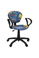 Детское компьютерное кресло Юниор GTP Синее United Kingdom