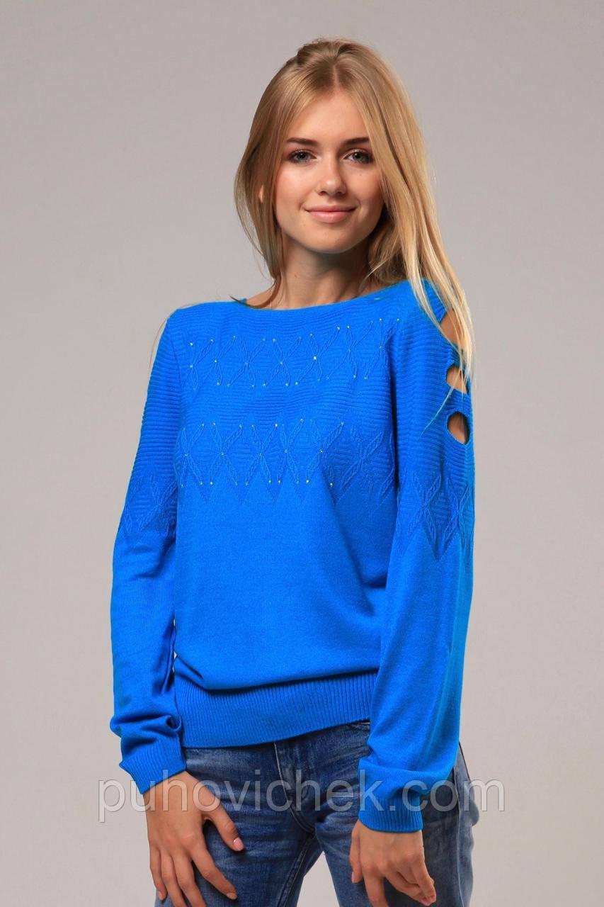 Красивые женские свитера и кофты вязаные