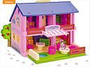 Двухэтажный кукольный домик, фото 2