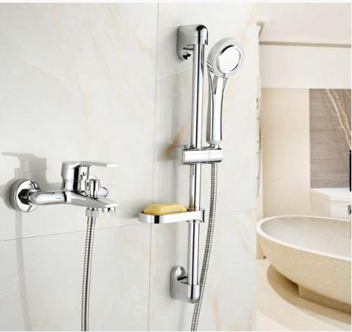 Смеситель для ванной комнаты со штангой 2-055