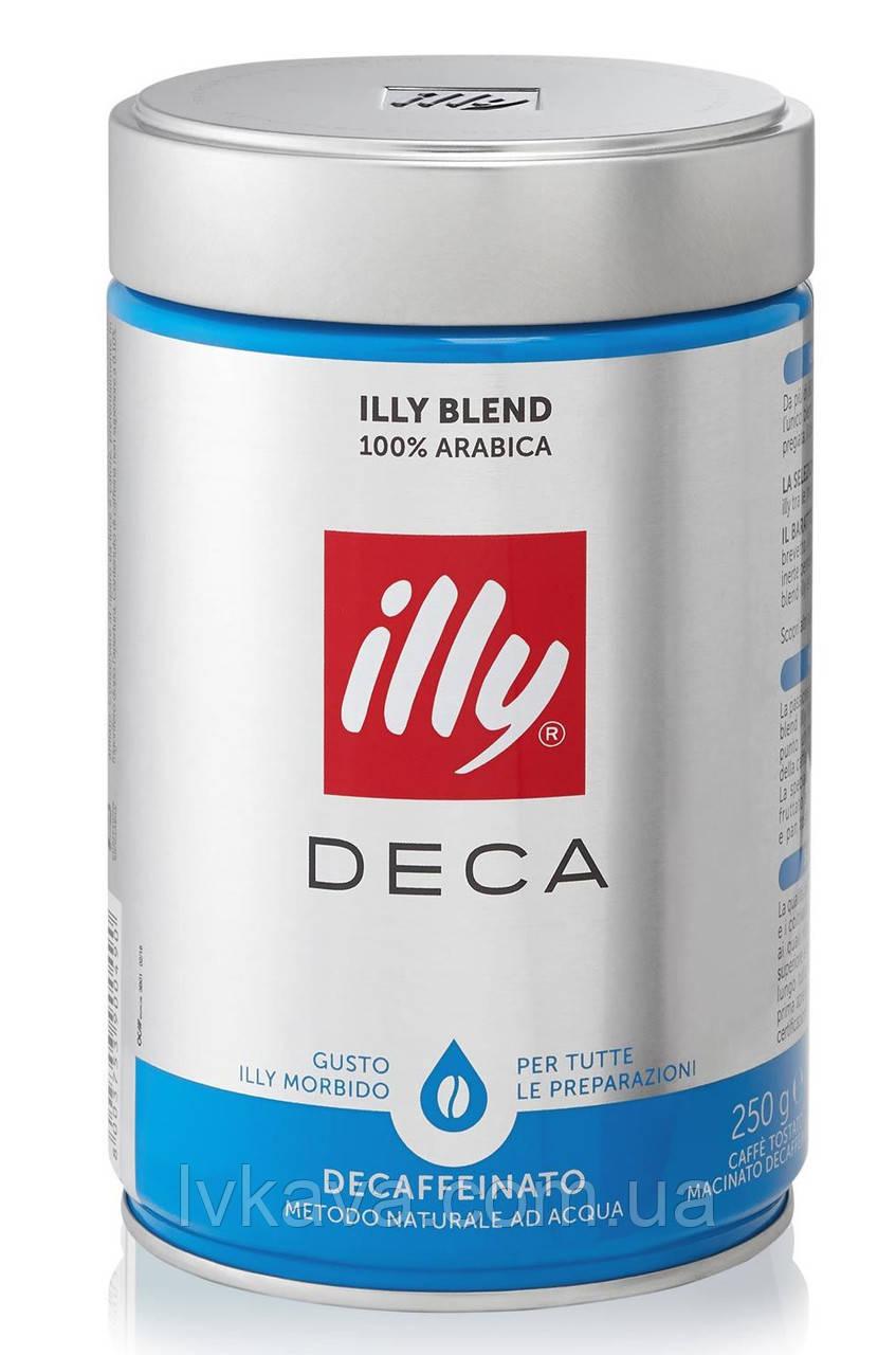 Кофе молотый Illy Deca ,  250 гр, ж\б