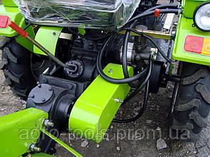 Почвофреза 100 DW-150RX с дополнительным редуктором и навесным механизмом для ДТЗ 180, фото 2