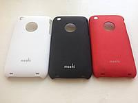 "Бардовый Чехол ""Moshi"" iphone 3/3G, фото 1"