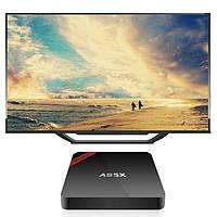 ТВ приставка A95X Nexbox новый процессор S905 Android 5.1 Смарт ТВ приставка для телевизора Smart box TV