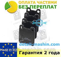 """Колодки тормозные дисковые задние на OPEL ASTRA F, VECTRA A  """"RIDER"""""""