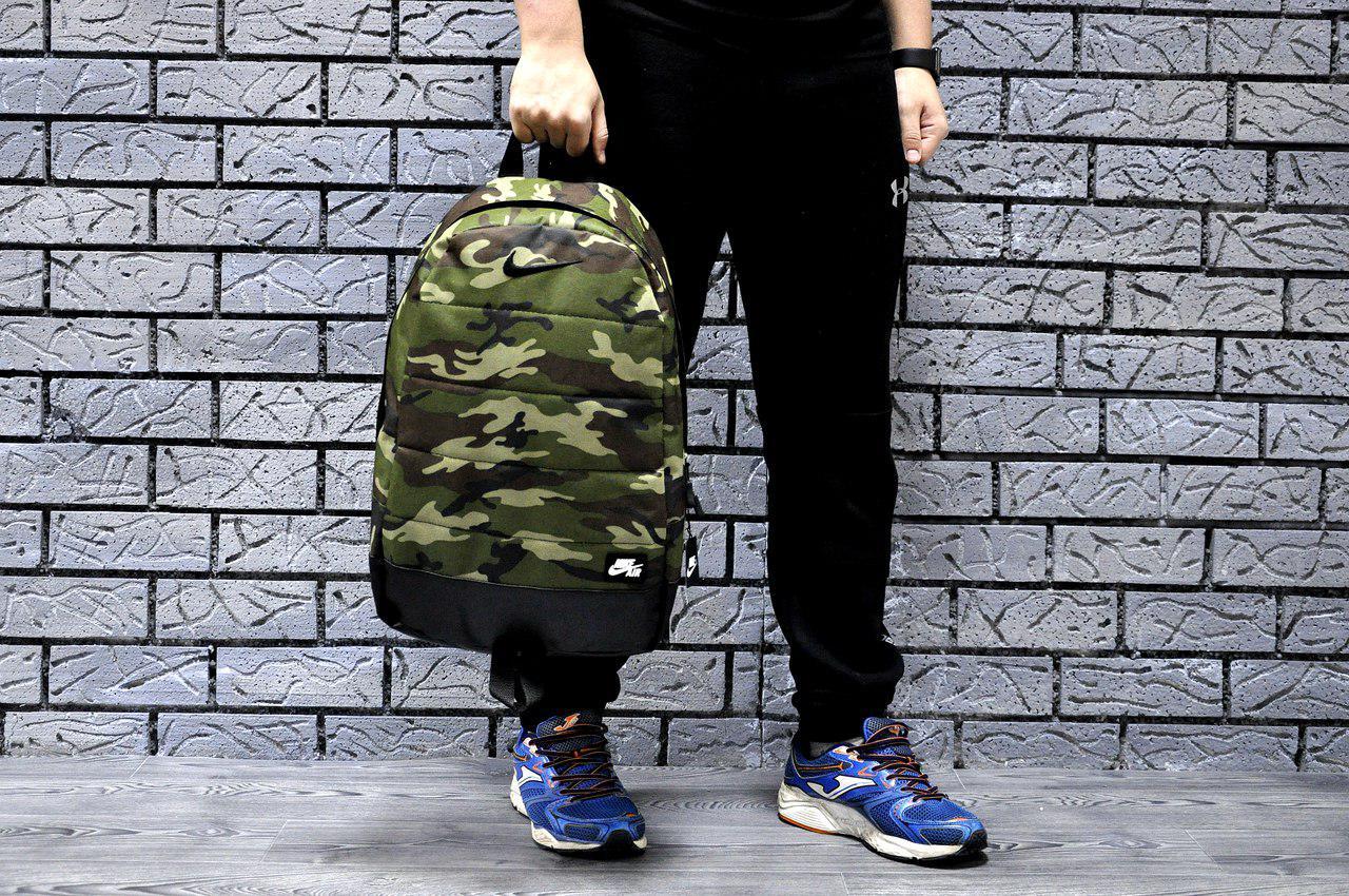 Рюкзак Nike, молодежный AIR камуфляж