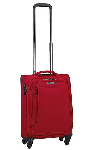 Маленький текстильный чемодан на 4-х колесах March Delta