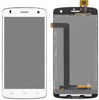 LCD дисплей FLY IQ4503 Era Life 6 Quad с тачскрином white orig