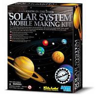 Набор Мобиль солнечной системы (светится в темноте) серии Детская лаборатория