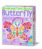 Набор для творчества - мозаичный витраж Бабочка