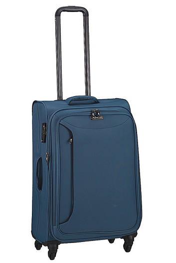 Средний текстильный чемодан на 4-х колесах March Delta