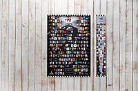Скретч постер My Poster Cinema edition 21 century UKR/ENG в тубусе + бесплатный постер премьер 2018 года