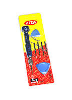Набор инструментов AIDA AD-910 (Ручка+наконечники Т5, Т6,+1,2, 2 медиатора)