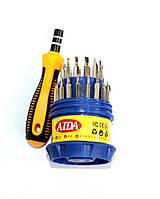 Набор отверток AIDA 808-31,616-31 ( Ручка + 30 насадок)
