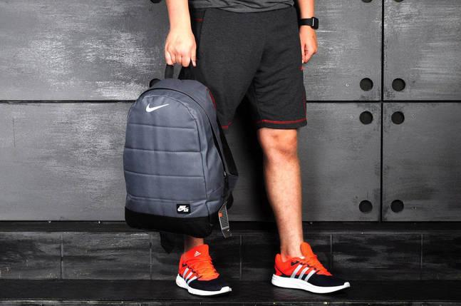 Рюкзак Nike AIR серый, фото 2