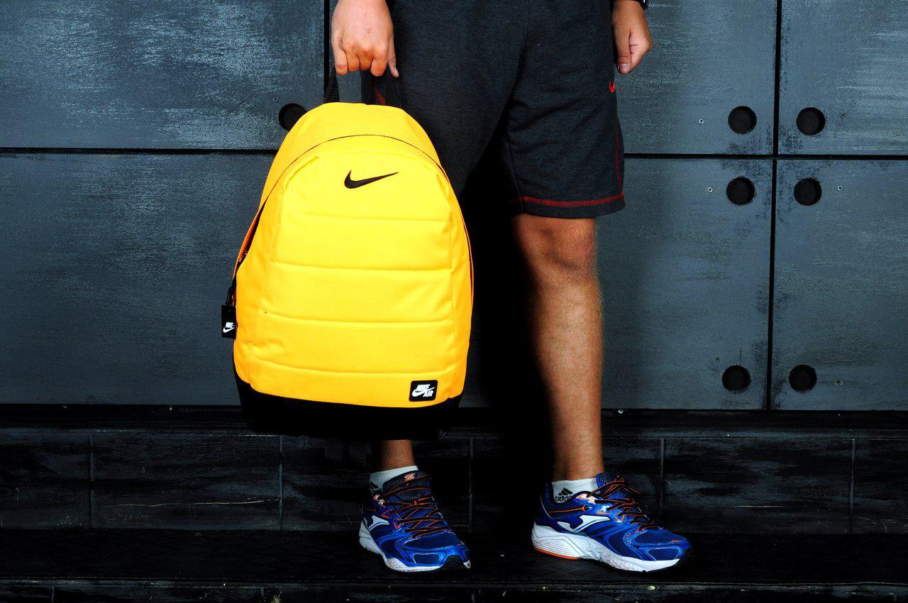Рюкзак Nike AIR желтый