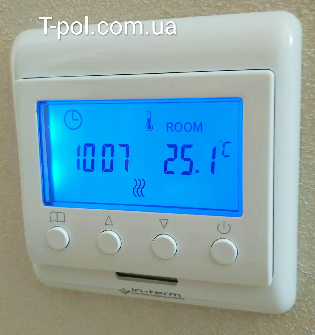 Непрограммируемый цифровой терморегулятор e 60 с дисплеем