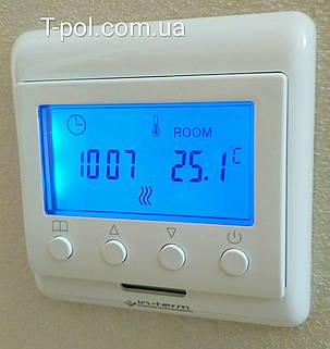 Непрограммируемый цифровой терморегулятор e 60 с дисплеем, фото 2
