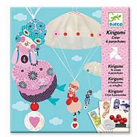 Художественный комплект - Киригами Девочки с парашютом