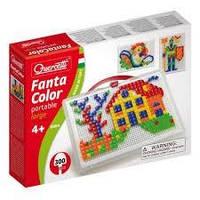 Набор Для занятий мозаикой (квадратные и треугольные фишки (300 шт.) + доска 28х20, переносной)