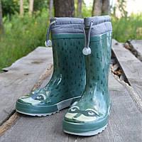 Резиновые сапожки Gioseppo, р 35. Демисезонные сапоги, обувь на дождь. Женские резиновые сапоги