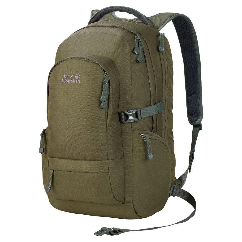 Рюкзак Jack Wolfskin Trooper Rucksack, olive, 32 L