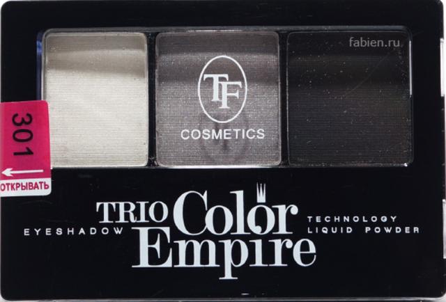 Тени 3 цвета Triumf №301