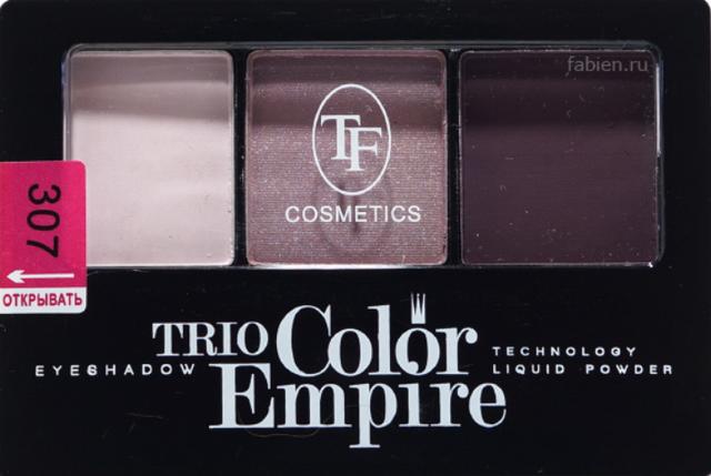 Тени 3 цвета Triumf №307