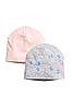 Набор с 2-х шапочек на девочку H&M
